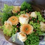 生花の花束(ナチュラル)